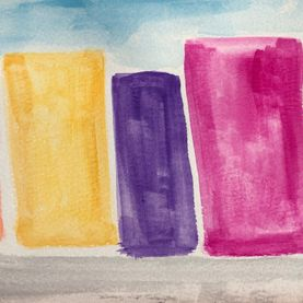 watercolour city colour mixing art skills for kids adults families art activity wellbeing mindfulness art therapy